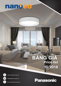 Bảng giá thiết bị điện Panasonic tháng 10/2018