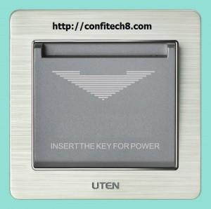 Công tắc dùng thẻ từ UTEN (30A)