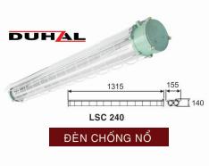 Đèn chống nổ DUHAL 2×36 (LSC 240)