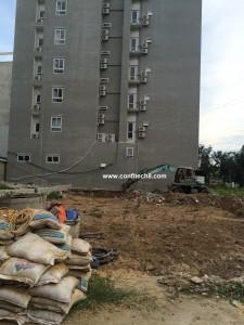 Confitech8 khởi công xây dựng công trình Khách sạn Vũ Gia Sầm Sơn