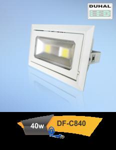 Đèn led chiếu rọi phòng hội nghị 40w (DUHAL)