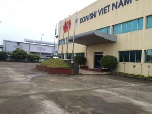 Lễ động thổ xây dựng nhà máy Konishi Việt Nam (giai đoạn 2)