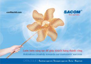 Thông số kỹ thuật (catalogue) dây cáp điện SACOM