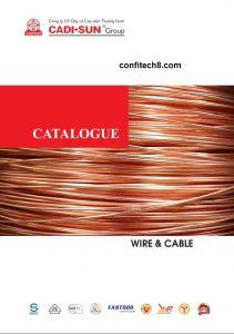 Catalogue dây cáp điện hạ thế CADISUN
