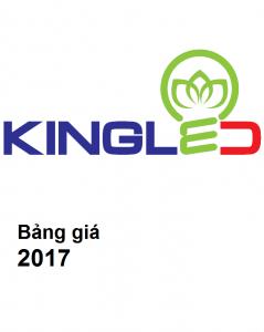Bảng giá thiết bị chiếu sáng KINGLED (2017)