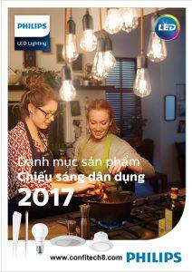 Bảng giá thiết bị chiếu sáng PHILIPS (2017)