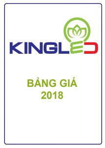 Bảng giá thiết bị chiếu sáng KINGLED (2018)